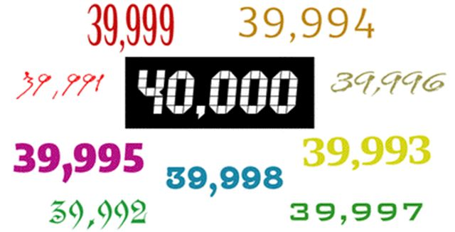 40.000 Gostos no Facebook!