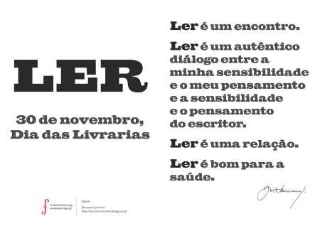 30 de Novembro, Dia das Livrarias