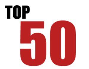 O Top 50 de 2012