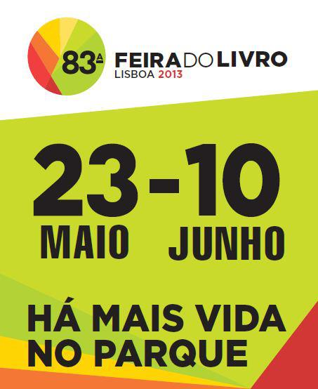 Estaremos na Feira do Livro de Lisboa
